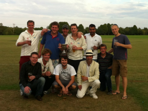 The annual cricket match Cox & Kings v Audley
