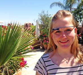 Exploring Marrakech  With Google Glass