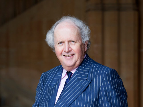 Watching the detectives… Alexander McCall Smith