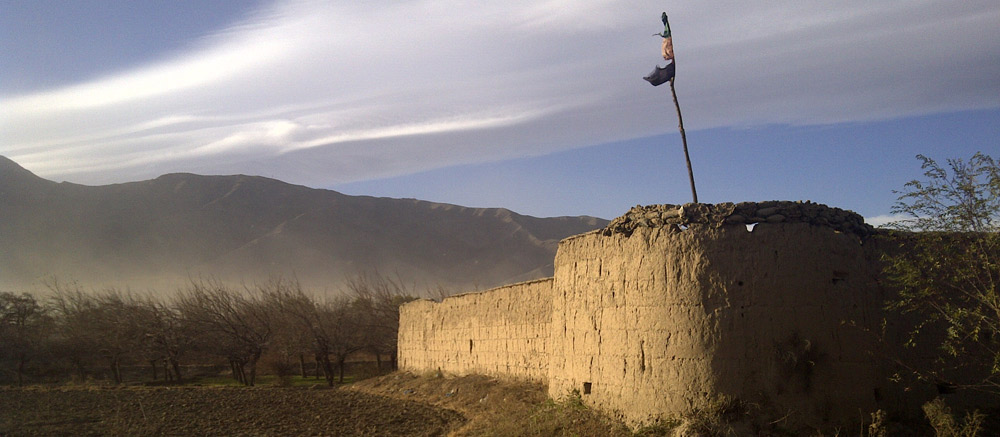 remains-of-the-old-British-barracks-at-Charikar-in-the-Kohistan