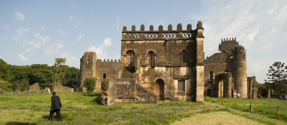 Gondar is home to the Unesco World Heritage Site Fasil Ghebbi