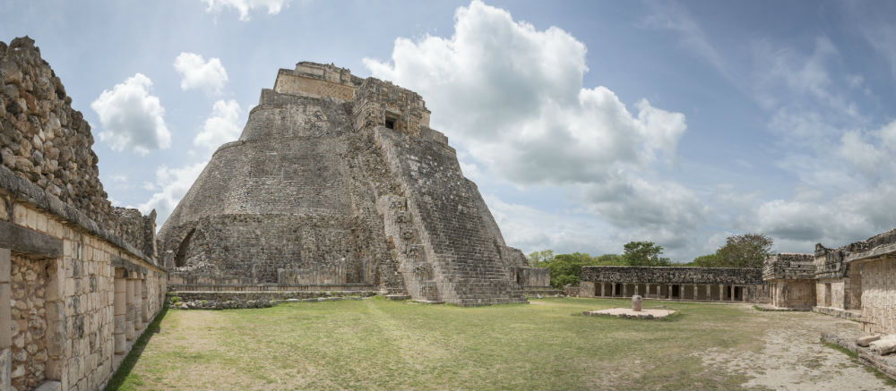 Discover the magical ruins of Uxmal