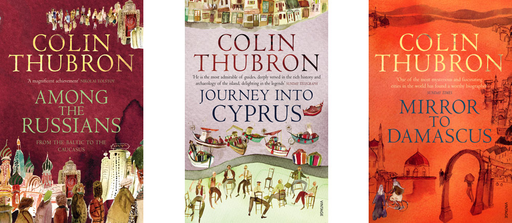 Colin Thubron book covers