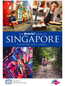 Singapore Wanderlust guide cover