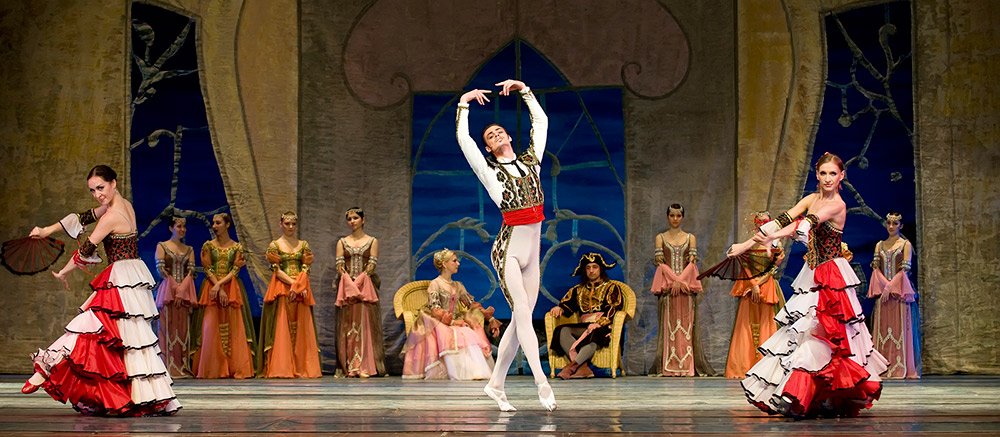 Swan Lake performed by the Russian Royal Ballet