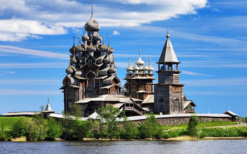The Church of the Transfiguration, Kizhi Island