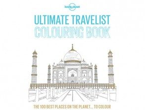 WIN a Lonely Planet… travel colouring book