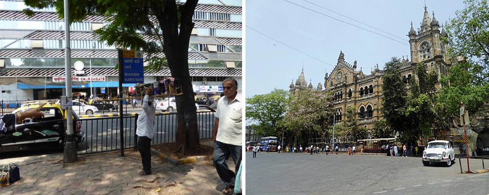 tiffin wallahs and Victoria Terminus