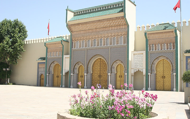 Gate of the Royal Palace, Fez