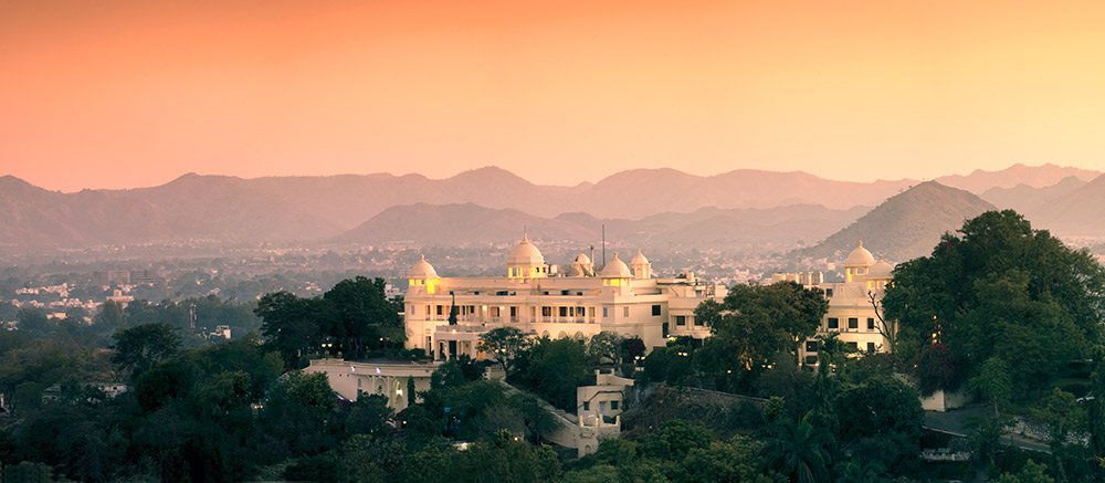 The Lalit Laxmi Vilas Palace in Udaipur