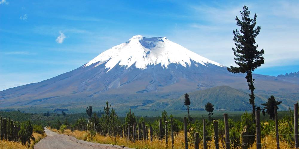 Cotopaxi Volcano in the heart of the Andes
