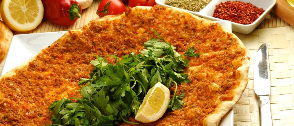 .Minced lahmacun, Turkey