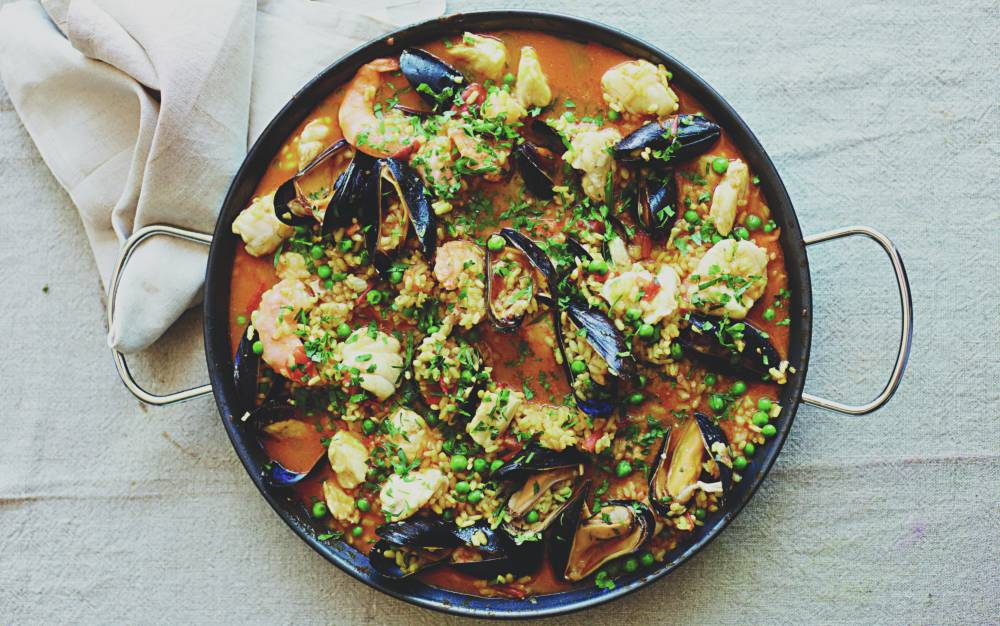 Paella by Nathan Outlaw