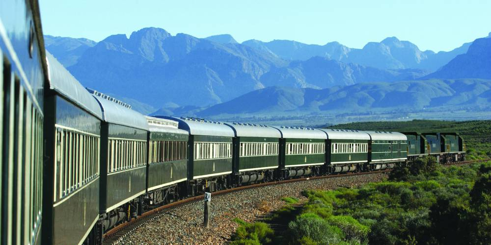 Rovos Rail in South Africa