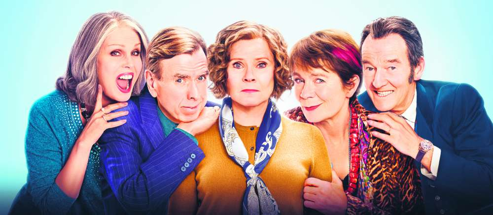 Cast of Finding Your Feet