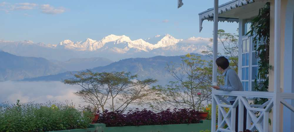 View of Kanchenjungha