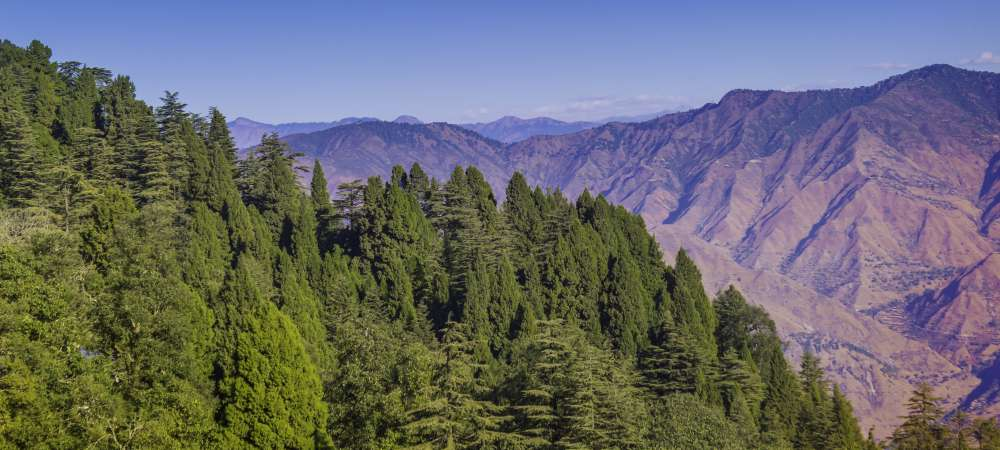 The stunning views from Mussoorie