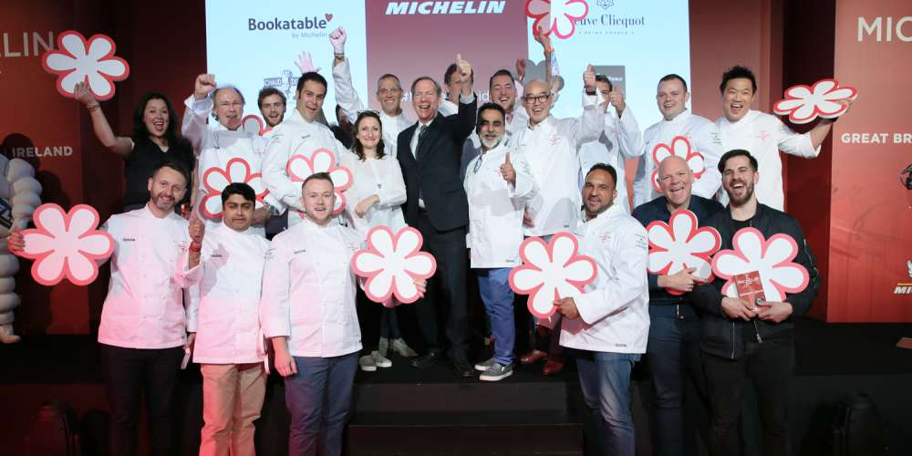 Winners of the 2018 Michelin stars
