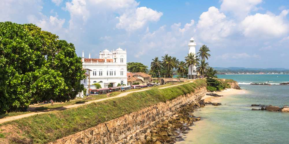 Galle fort and lighthouse