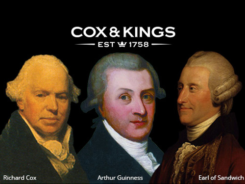 Which came first… sandwiches, Guinness or Cox & Kings?