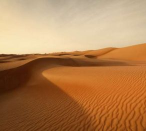 Shifting sands … in Oman