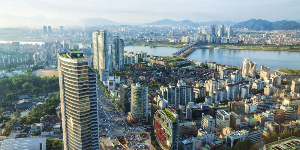 Seoul from above
