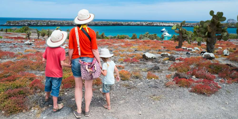 Family holiday to the Galapagos Islands