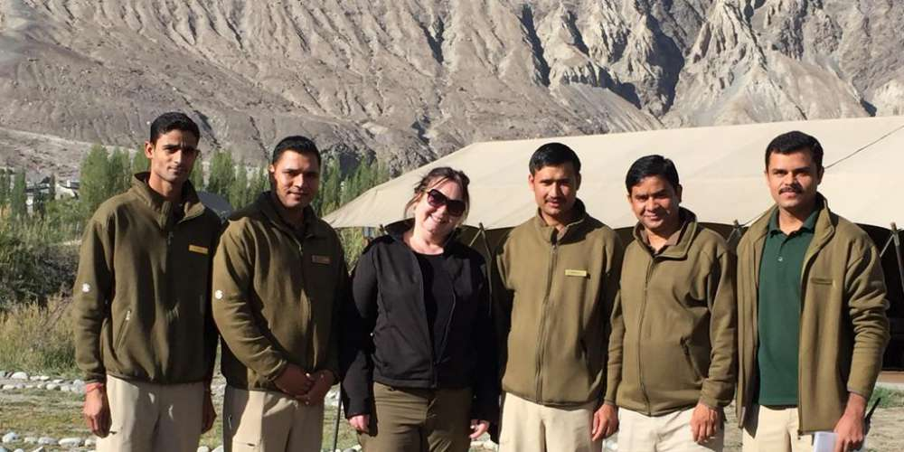 Staff at The Ultimate Travelling Camp