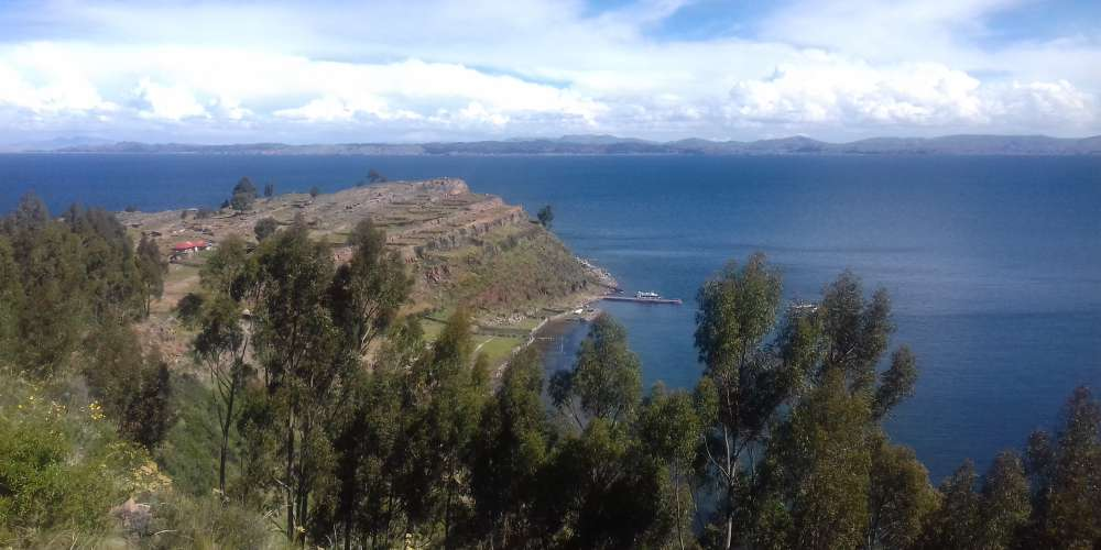 View from Taquile