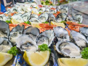 Oysters at Sydney Fish Market
