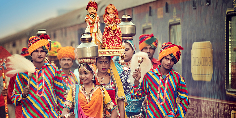 Deccan Odyssey welcome