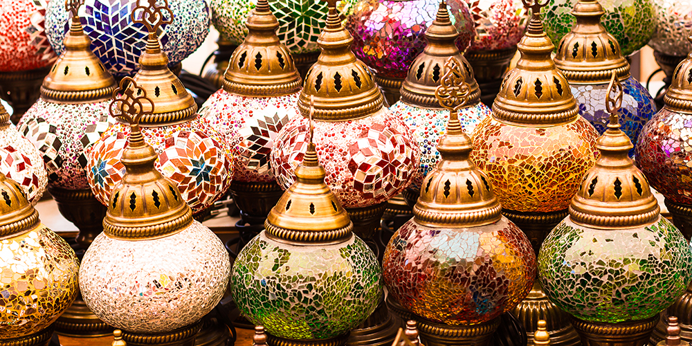 Traditional lanterns, Grand Bazzar, Istanbul