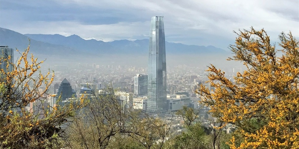 Santiago and the Costanera Center
