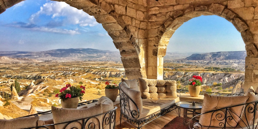 The views from Cappadocia Museum Hotel