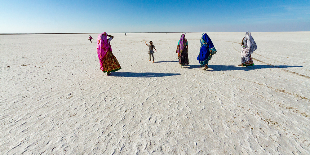 Rann of Kutch, Gujarat, India