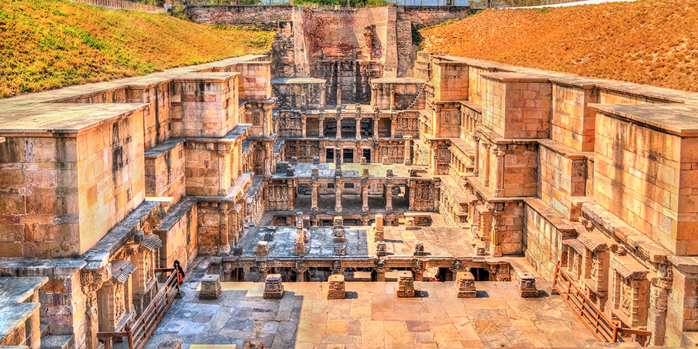 Rani-ki-vav stepwell in Patan, Gujarat, India