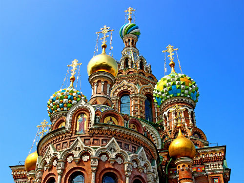 Cultural rivalry…Moscow vs St Petersburg