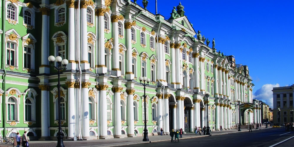 Winter Palace Hermitage St Petersburg Russia