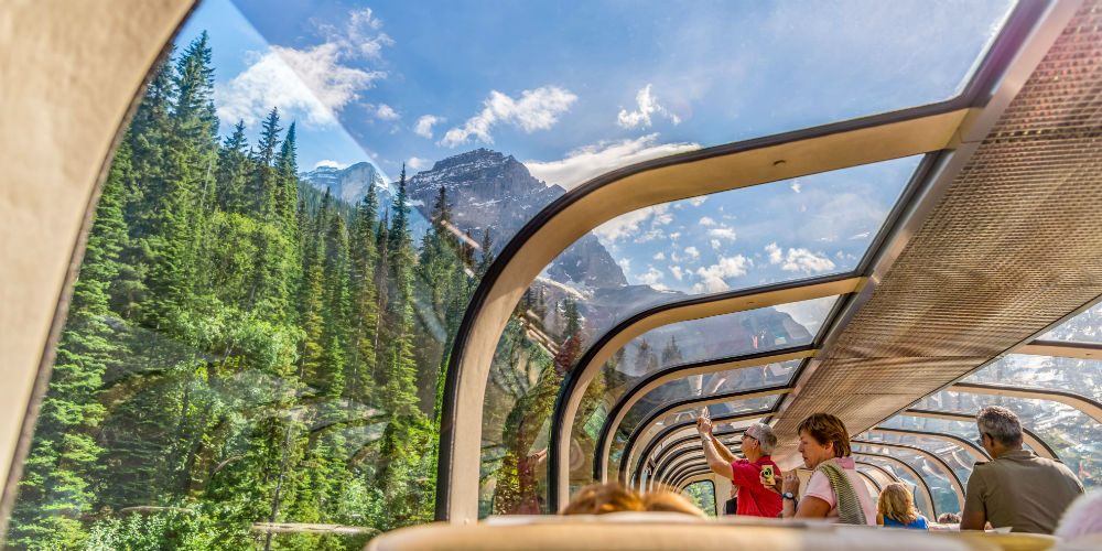 Rocky Mountaineer Observation Car, Canada