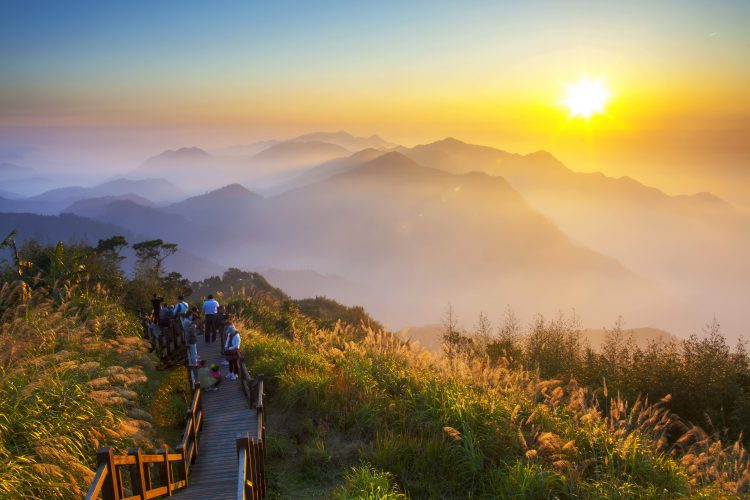 Alishan National Scenic Area, Taiwan