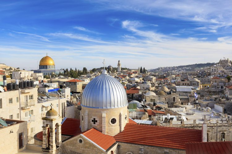 Old Town, Jerusalem, Israel & the OPT