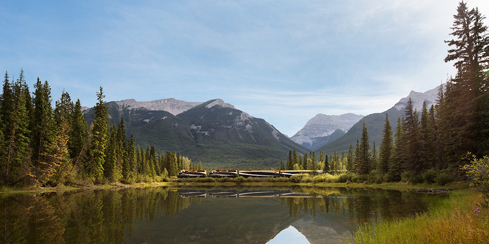 Rocky Mountaineer, Muleshoe lake, First Passage to the West route