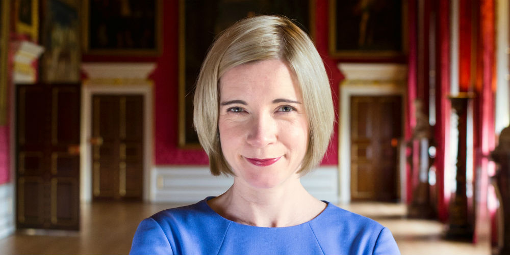 Lucy Worsley (credit Historic Royal Palaces Bloomsbury Ben Turner)