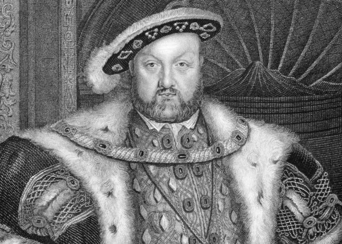 Henry VIII (1491-1547) Engraved by WT Fry and published in Lodge's British Portraits encyclopedia United Kingdom 1823