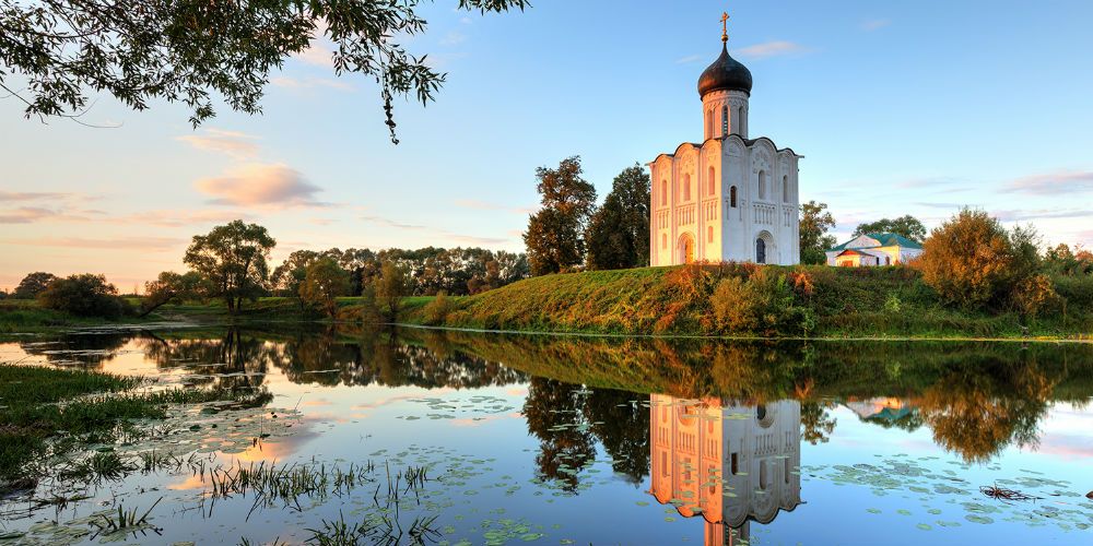 Church of the Intercession on the Nerl, Bogolyubovo, Russia
