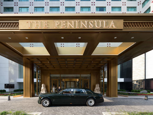 Behind the scenes… at The Peninsula Beijing