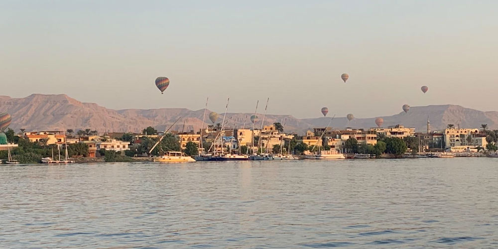 Early Morning over the River Nile, Luxor